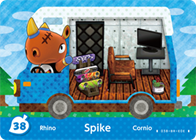 Amiibo Cards Welcome amiibo Spike