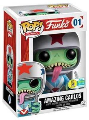 Funko Pop! Funko Amazing Carlos Stock