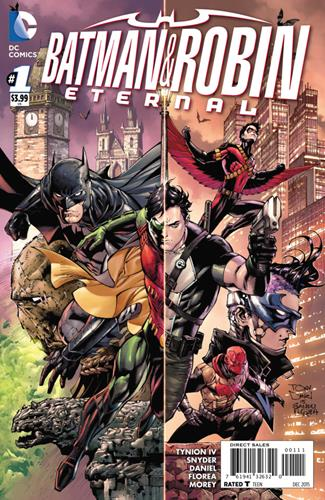 DC Comics Batman & Robin Eternal (2015 - 2016) Batman & Robin Eternal (2015) #1 Icon