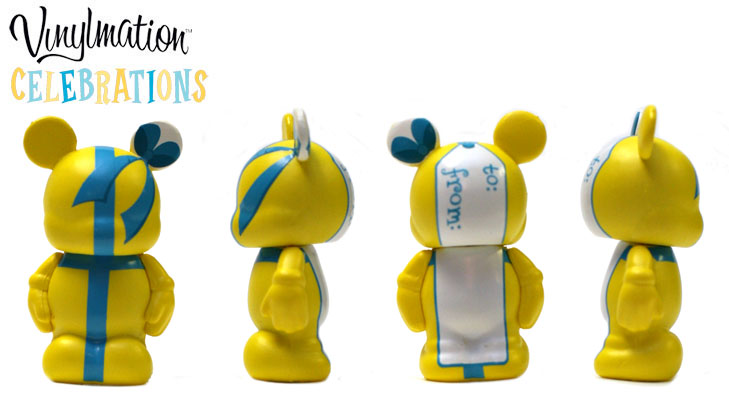 Vinylmation Open And Misc Celebrations Jr Gift Tag