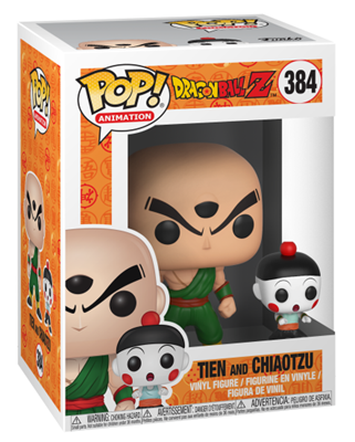 Funko Pop! Animation Tien & Chiaotzu Stock