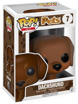 Funko Pop! Pets Dachshund (Brown) Stock Thumb