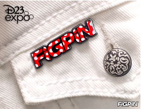FiGPin FiGPiN Misc Red Polka Dot FiGPiN logo pin Stock Thumb