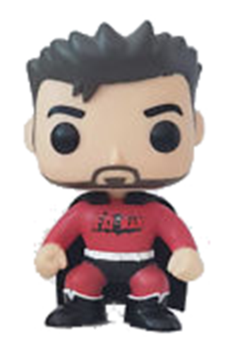 Funko Pop! Heroes Fat Man (Red) Icon