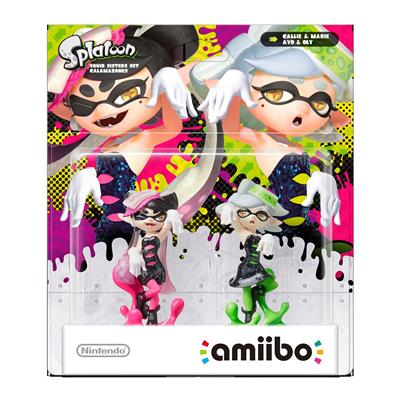 Amiibo Splatoon Callie and Marie (2-Pack) Stock