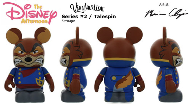 Vinylmation Open And Misc Disney Afternoon 2 Karnage