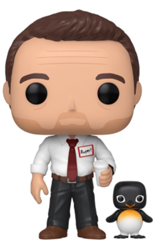 Funko Pop! Movies Narrator with Power Animal (Chase)