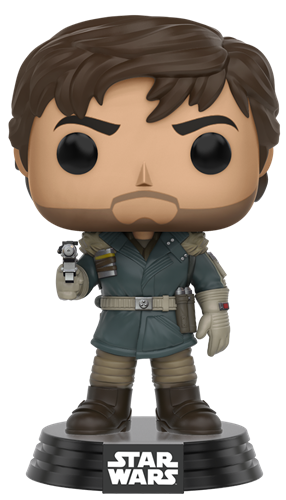 Funko Pop! Star Wars Captain Cassian Andor