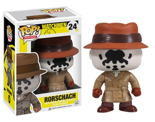 Funko Pop! Movies Rorschach Stock