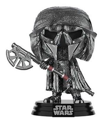 Funko Pop! Star Wars Knight Of Ren (Long Axe) (Hematite Chrome)