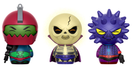 Dorbz Masters of the Universe Trap Jaw, Scare Glow, & Spikor (3 Pack)