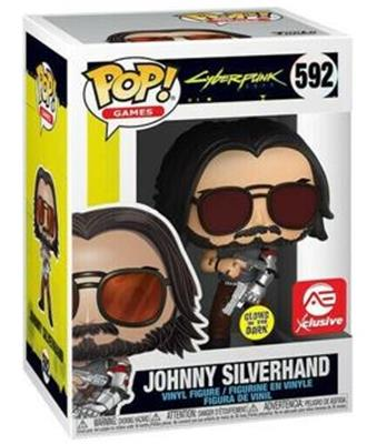 Funko Pop! Games Johnny Silverhand (Glows in the Dark) Stock Thumb
