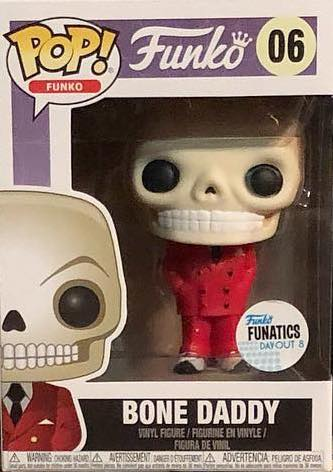 Funko Pop! Funko Bone Daddy (Red Suit) Stock