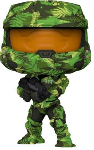 Funko Pop! Halo Master Chief with MA40 Assault Rifle in Hydro Deco