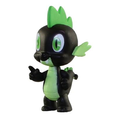 Mystery Minis My Little Pony Series 3 Spike (Black) Stock