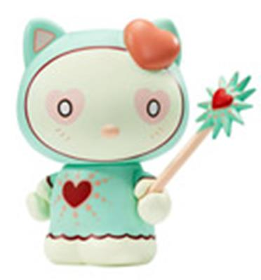 Kid Robot Art Figures Magic Love Hello Kitty