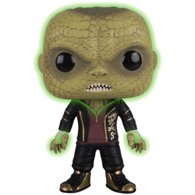 Funko Pop! Heroes Killer Croc (Suicide Squad) (Glow in the Dark) Icon
