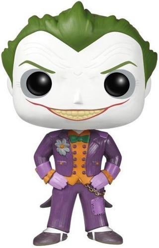 Funko Pop! Heroes The Joker (Arkham Asylum) Icon