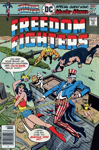DC Comics Freedom Fighters (1976) Freedom Fighters (1976) #4 Stock