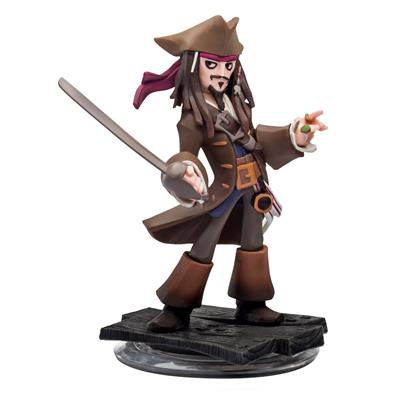 Disney Infinity Figures Pirates of the Caribbean Captain Jack Sparrow Icon