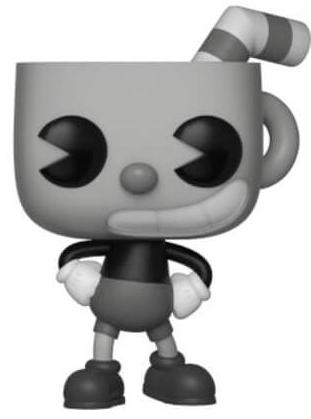 Funko Pop! Games Cuphead (B&W) - Chase