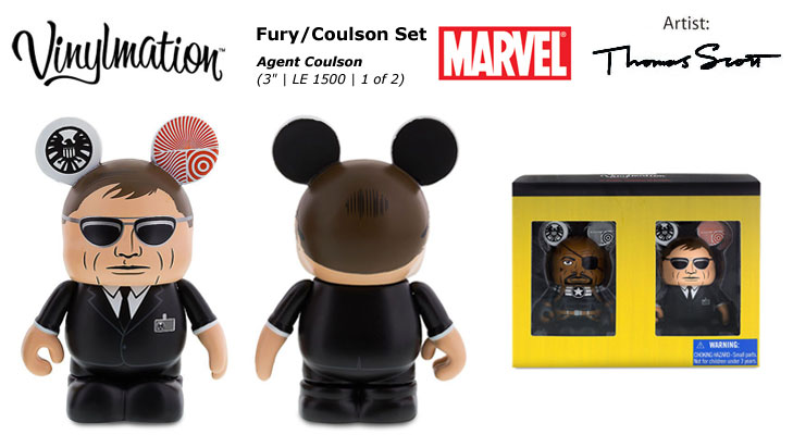 Vinylmation Open And Misc Marvel Agent Coulson