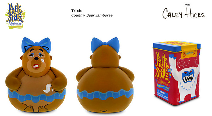 Vinylmation Open And Misc Park Starz 3 Trixie
