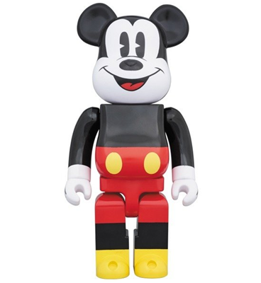 Be@rbrick Disney Mickey Mouse 1000% Icon Thumb