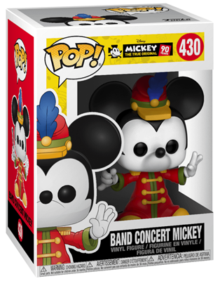 Funko Pop! Disney Mickey Mouse (Band Concert)  Stock