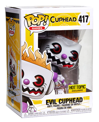 Funko Pop! Games Cuphead (Evil) Stock Thumb