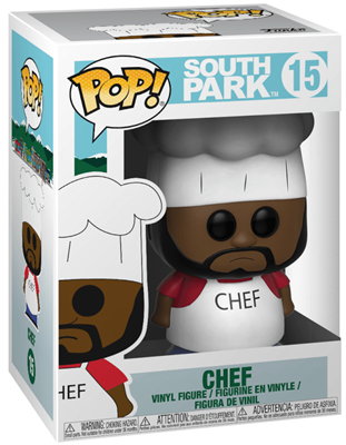Funko Pop! South Park Chef Stock