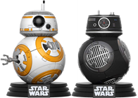 Funko Pop! Star Wars BB-8 & BB9E