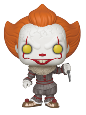 Funko Pop! Movies Pennywise (With Blade) Icon