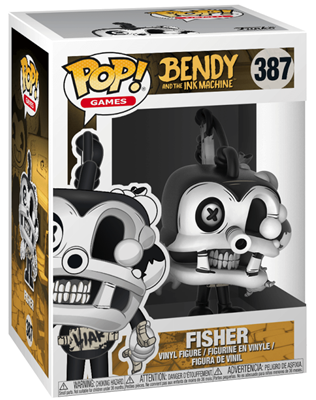 Funko Pop! Games Fisher Stock