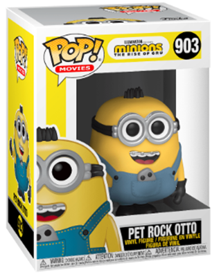 Funko Pop! Movies Pet Rock Otto Stock