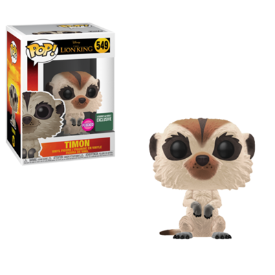 Funko Pop! Disney Timon (Flocked)