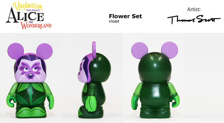 Vinylmation Open And Misc Alice In Wonderland Violet