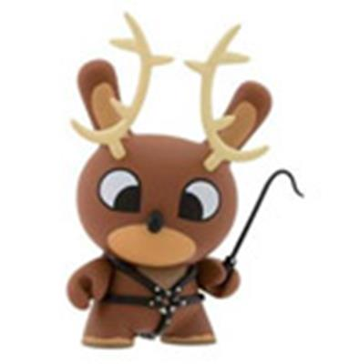 Kid Robot Special Edition Dunny Reindeer