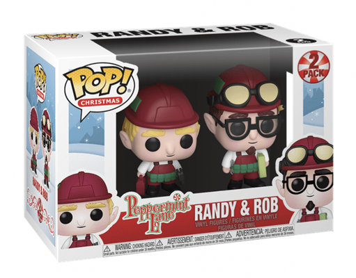 Funko Pop! Holidays Randy & Rob (2-Pack) Stock