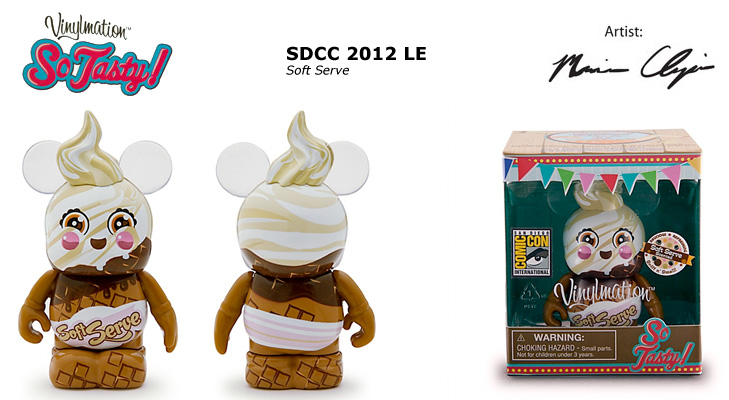 Vinylmation Open And Misc So Tasty Soft Serve