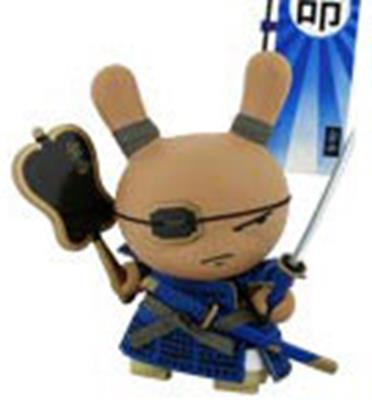 "Kid Robot 8"" Dunnys Shogun (Blue)"