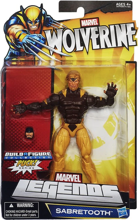 Marvel Legends Puck Series Sabretooth