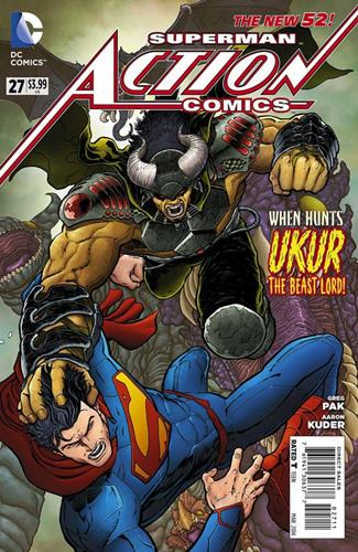 DC Comics Action Comics (2011 - 2016) Action Comics (2011) #27 Stock