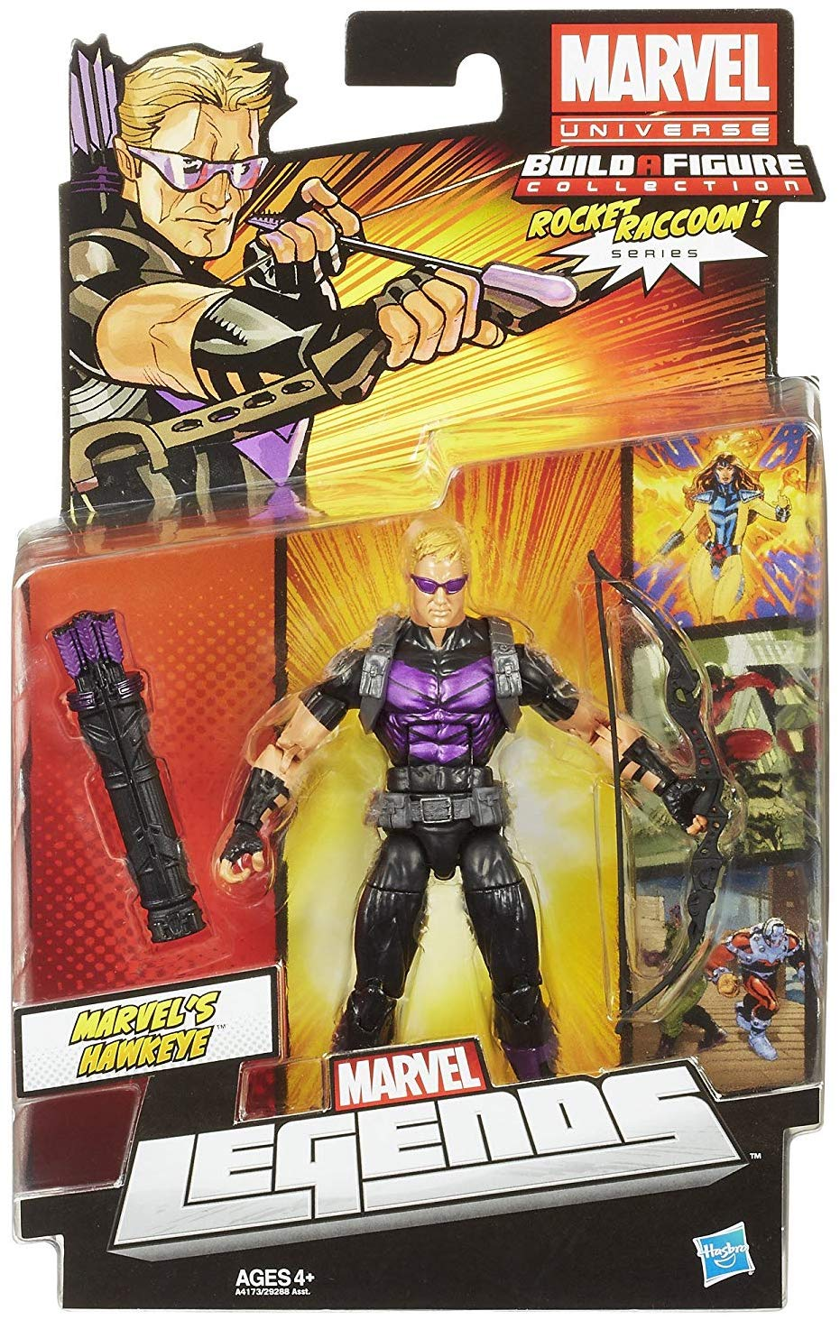 Marvel Legends Rocket Raccoon Series Hawkeye