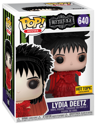 Funko Pop! Movies Lydia Deetz (Wedding) Stock