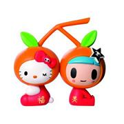 Tokidoki Hello Kitty 7-Eleven Tangerine Kitty