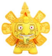 Kid Robot Blind Boxes Azteca Series 2 Gold Calendario