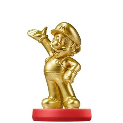 Amiibo Super Mario Mario - Gold Edition