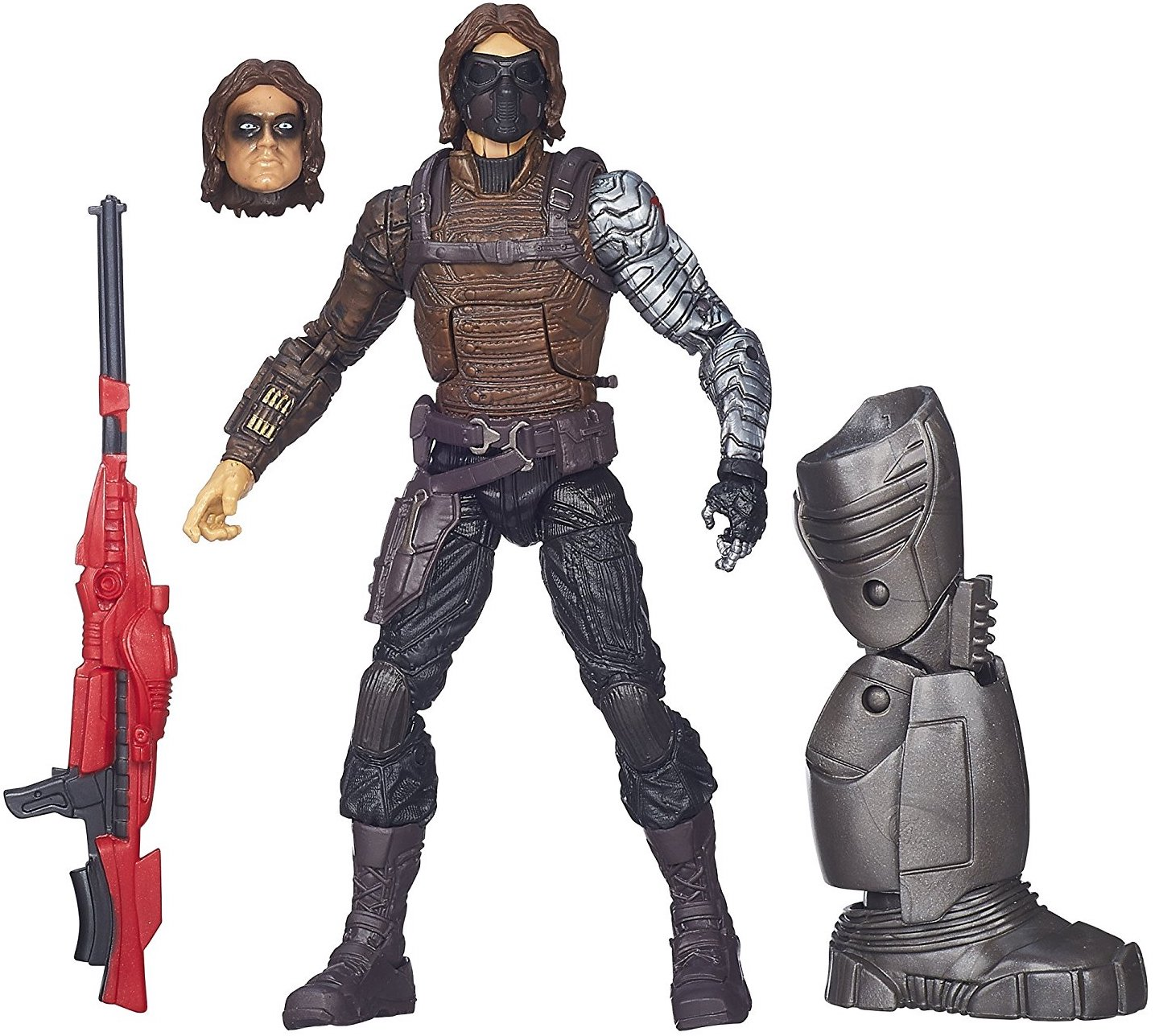 Marvel Legends Mandroid Series Winter Soldier Stock