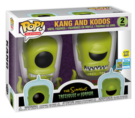 Funko Pop! Animation Kang and Kodos (GITD) Stock